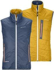 Ortovox Swisswool Piz Cartas Mens Vest Night Blue