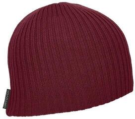 Ortovox Double Rib Logo Beanie Dark Blood