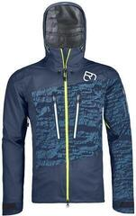 Ortovox 3L Guardian Shell Mens Jacket Night Blue
