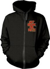 Alestorm Get Drunk Or Die Hooded Sweatshirt Zip Black