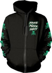 Alestorm Pirate Pizza Party Hooded Sweatshirt Zip M