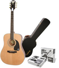 Epiphone PRO-1 Plus Acoustic Natural/Set