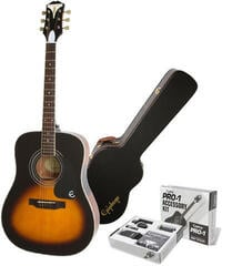 Epiphone PRO-1 Plus Acoustic Vintage Sunburst/Set
