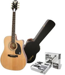 Epiphone PRO-1 Ultra Acoustic Electric Natural SET