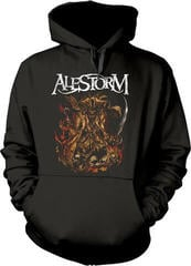 Alestorm We Are Here To Drink Your Beer! Hooded Sweatshirt Black