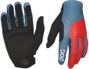 POC Essential Print Glove Cuban Blue/Prismane Red