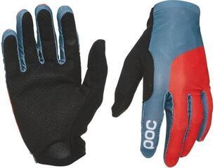 POC Essential Print Glove Cuban Blue/Prismane Red
