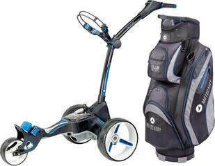 Motocaddy M5 Connect Black Standard Battery Electric Golf Trolley SET