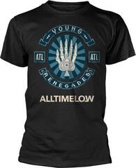 All Time Low Skele Spade T-Shirt Black