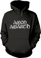 Plastic Head Amon Amarth Grey Skull Hooded Sweatshirt Black