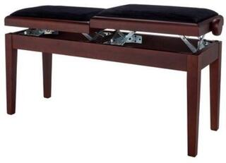 GEWA 130270 Double Piano Bench Walnut Matt