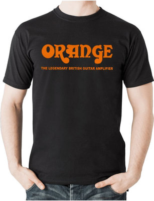 Orange Classic T-Shirt Black XL
