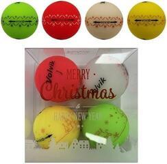 Volvik X-mas Pack 4 balls VIVID