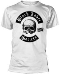 Black Label Society Skull Logo Blanc