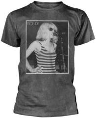 Blondie Striped Singing Premium T-Shirt Grey