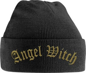 Angel Witch Gold Logo Embroidered Knitted Ski Hat