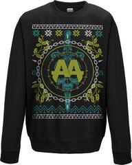 Asking Alexandria Christmas Light Crew Neck Sweater Black
