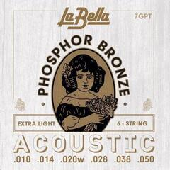 LaBella 7GPT Phosphor Bronze – Extra Light