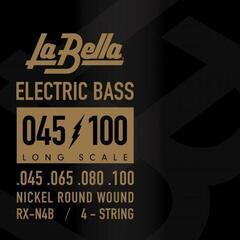 LaBella RX-N4B Bass RX Nickel-Plated 45-65-80-100