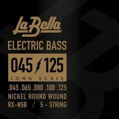 LaBella RX-N5B Bass RX Nickel-Plated 45-65-80-100-125