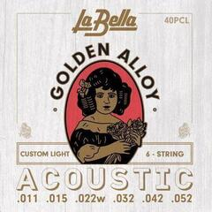 LaBella 40PCL Golden Alloy Custom Light