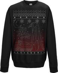 Asking Alexandria The Black Christmas Crew Neck Sweater Black