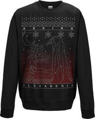Asking Alexandria The Black Christmas Crew Neck Sweater Black
