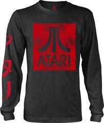 Atari Box Logo Black Long Sleeve Shirt Black