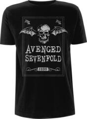 Avenged Sevenfold Face Card T-Shirt L