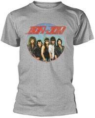 Bon Jovi Heavy Wash T-Shirt Grey