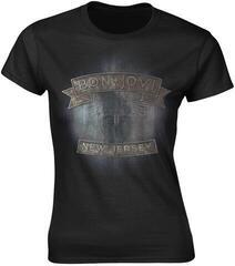 Bon Jovi New Jersey Womens T-Shirt Black