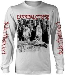 Cannibal Corpse Butchered At Birth Long Sleeve Shirt White