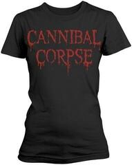 Cannibal Corpse Dripping Logo Womens T-Shirt Black