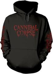 Plastic Head Cannibal Corpse Butchered At Birth Explicit Hooded Sweatshirt Black