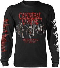 Cannibal Corpse Butchered At Birth Baby Long Sleeve Shirt Black