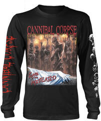 Cannibal Corpse Tomb Of The Mutilated Long Sleeve Shirt Black