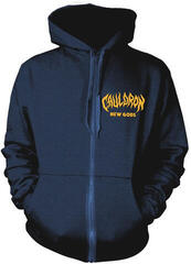 Plastic Head Cauldron New Gods Hooded Sweatshirt Zip Navy