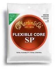 Martin MFX700 SP Flexible Core Strings, 92/8 Phosphor Bronze, Custom 12 String