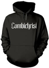 Plastic Head Combichrist Skull Hooded Sweatshirt Black