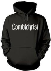 Combichrist Skull Hooded Sweatshirt Black