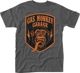 Gas Monkey Garage Shield T-Shirt Grey