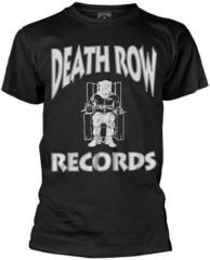 Death Row Records Logo T-Shirt Black