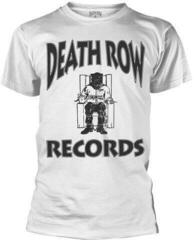 Death Row Records Logo T-Shirt White