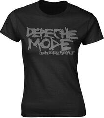 Depeche Mode People Are People Womens T-Shirt Black
