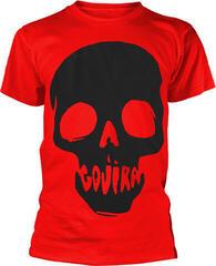 Gojira Skull Mouth T-Shirt Red