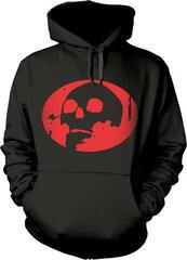 Gorillaz Skull Hooded Sweatshirt Black