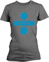 Ed Sheeran Divide Logo Womens T-Shirt Grey