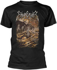 Emperor With Strength I Burn T-Shirt Black