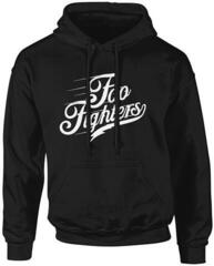 Foo Fighters Logo Text Hooded Sweatshirt Black