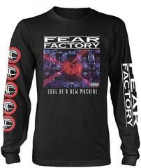 Fear Factory Soul Of A New Machine Long Sleeve Shirt Black